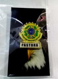 Boton especial com brasão,PASTORA