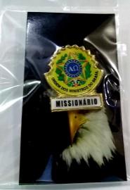 Boton especial com brasão,MISSIONÁRIO