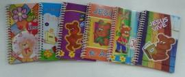 Caderneta de anotações URSO comum.cada