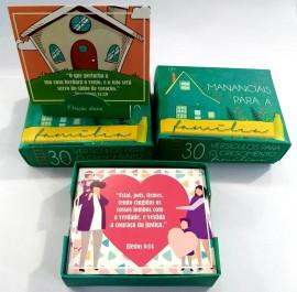 Caixa promessa,mananciais para família verde,cada