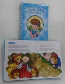 Livro histórias da bíblia para meninos,cada