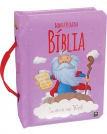 Livro Minha pequena Bìblia com alcinha.