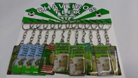 Chaveiro chapinha Ovelha,com 12 pçs