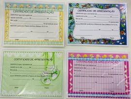 Certificado Criança c/10 pçs (20 cm x 15 cm)
