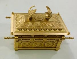 Arca da Aliança  dourada , médio