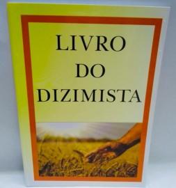 Livro REGISTRO DE DIZIMISTA