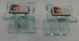 Pulpito vidro  pequeno ,cada